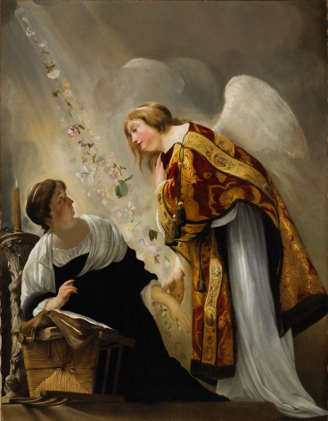 Paulus Bor, called Orlando The Annunciation of the Death of the Virgin National Gallery of Canada, Ottawa Nicholas Hall Art Gallery Dealer Old Masters