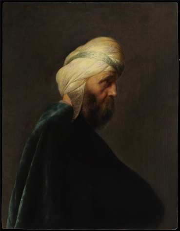 Jan Lievens (1607-1674), Man with a Turban