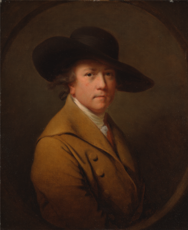 Joseph Wright of Derby Self-Portrait Yale Center for British Art, New Haven Nicholas Hall Art Gallery Dealer Old Masters