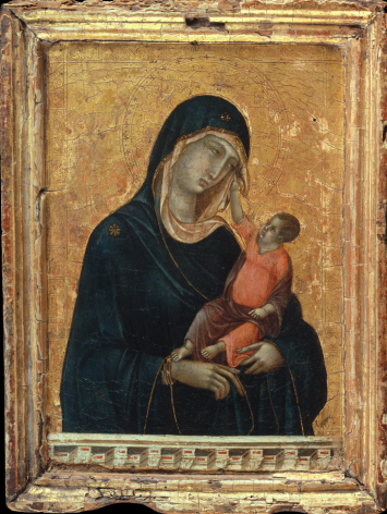 Duccio di Buoninsegna Madonna and Child Metropolitan Museum of Art New York Nicholas Hall Art Gallery Dealer Old Masters