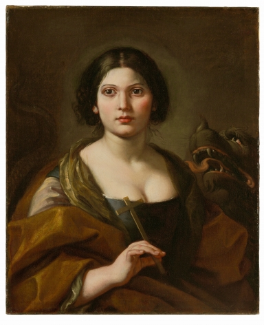 Portrait of Faustina Maratti Zappi (ca. 1679 - 1745) as St Margaret