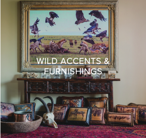 You GIVE BACK when you collect Banovich Wild Accents - SHOP WILD ACCENTS