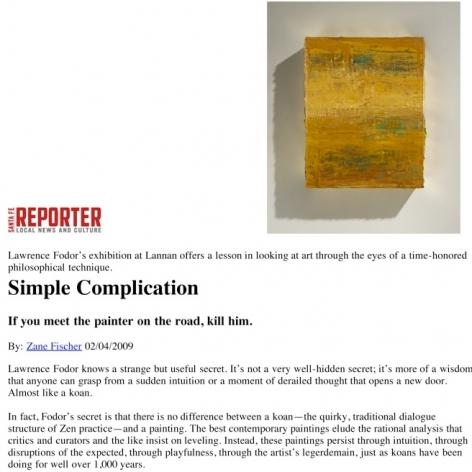 Simple Complication