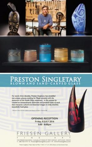 Preston Singletary at Friesen Gallery