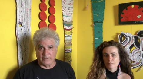 MAKING HISTORY: DAUGHTER & FATHER CREATE 'LINEAGE'