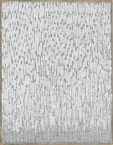 Ha Chong-Hyun, Conjunction 18-47, 2018. Oil on hemp cloth. 46.06 x 35.83 inches (117 x 92 cm).