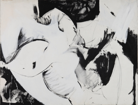 Untitled, Year unknown. Acrylic on canvas.44.09 x 56.69 inches(112 x 144 cm)