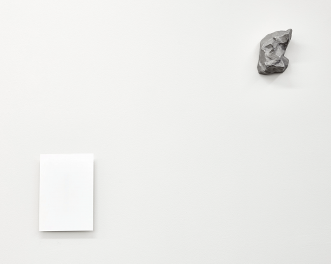 Stone and Mark, 2016.Aluminum.Dimension variable