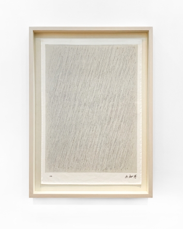 Park Seo-Bo, Untitled (based on Ecriture No.12-76, 1976), 2020 Limited edition artist print on high-quality cotton 27 3/5 × 19 7/10 in 70 × 50 cm Edition of 100