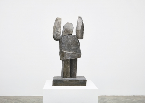 Gimhongsok, Surrender - Brown, 2018, High-strength grout cement, Sculpture, 34.25 x 15.75 x 11.81 inches 87 x 40 x 30 cm, Edition 1/3, 2AP, Gimhongsok: Dwarf, Dust, Doubt at Tina Kim gallery
