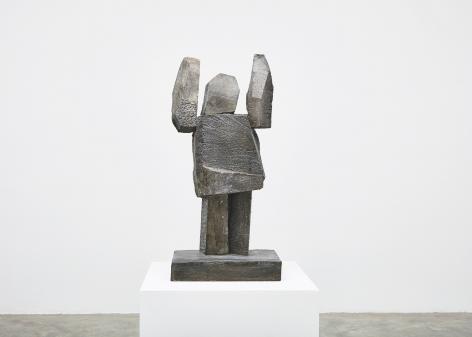 Gimhongsok, Surrender - Brown, 2018, High-strength grout cement, Sculpture, 34.25 x 15.75 x 11.81 inches 87 x 40 x 30 cm, Edition 1/3, 2AP, Gimhongsok: Dwarf, Dust, Doubt at Tina Kim gallery