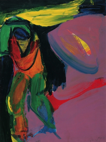Untitled, 1968. Acrylic on paper.22 3/4 x 17 inches(57.5 x 43 cm)