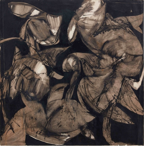 Untitled, 1974. Ink on paper. 33.46 x 33.07 inches (85 x 84 cm)