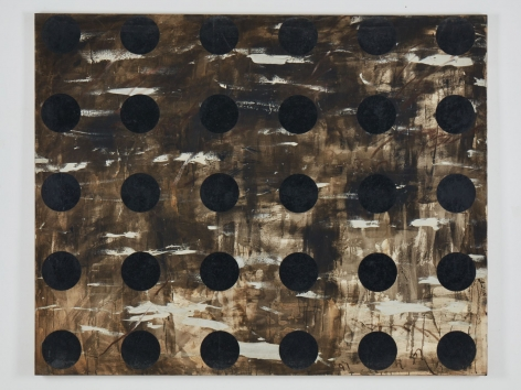 Untitled, 1991. Mixed media on canvas.71.46 x 89.37 inches(181.5 x 227 cm)