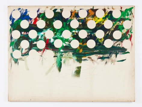 Untitled, 1990-2012. Acrylic on canvas.76.38 x 101.97 inches(194 x 259 cm)