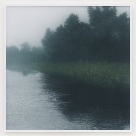 Kibong Rhee (b. 1957) Air, mind, 2020 Polyester fiber, acrylic pigment on canvas 41.14 x 41.14 inches 104.5 x 104.5 cm