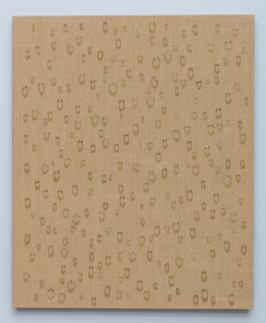 Waterdrops by Kim Tschang Yeul, 1973, Oil Painting, Exhibition 'New York To Paris' at Tina Kim Gallery