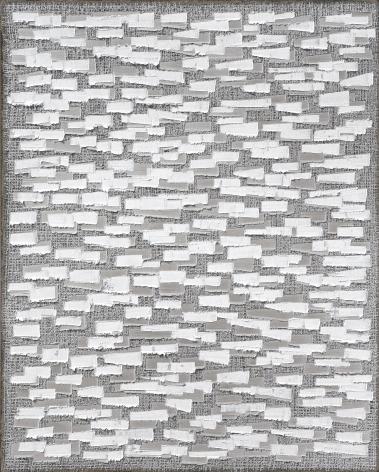 Ha Chong-Hyun, Conjunction 16-385 (2016). Oil on hemp cloth, 117 x 91 cm (46.06 x 35.83 inches), Tina Kim Gallery