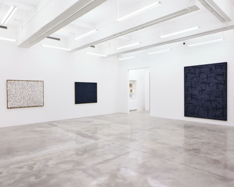 Installation View of Conjunction by Ha Chong-Hyun. Image by Jeremy Haik.