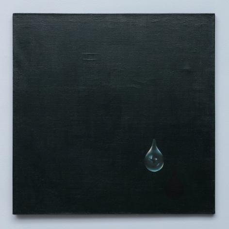 Événement de la nuit by Kim Tschang Yeul, 1970, Oil Painting, Exhibition 'New York To Paris' at Tina Kim Gallery