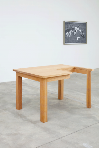 Table,2007.Wood.47.24 x 28.94 x 35.43 inches (120 x 73.5 x 90 cm)