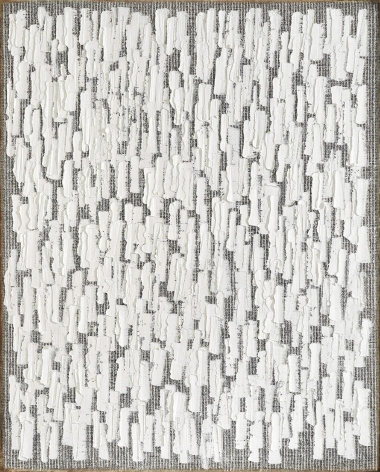 Conjunction 19-20 by Ha Chong-Hyun, 2019, Oil on hemp cloth, painting, Tina Kim Gallery
