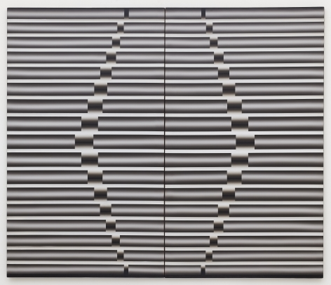 Nucleus by Lee Seung Jio, 1984, Oil Painting, Exhibition 'Nucleus' at Tina Kim Gallery