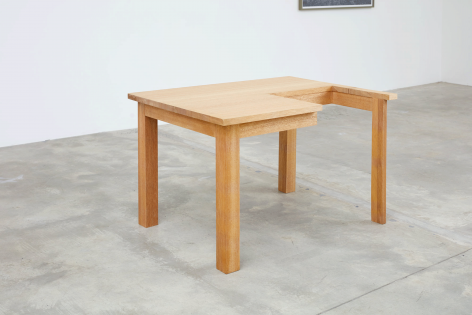 Table, 2007.Wood.47.24 x 28.94 x 35.43 inches (120 x 73.5 x 90 cm)