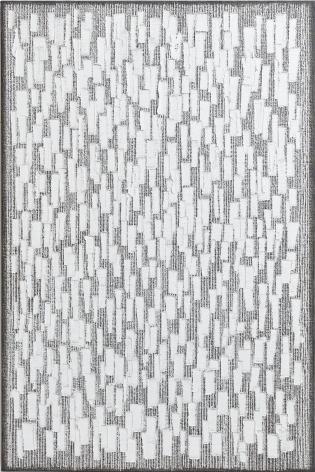 Ha Chong-Hyun, Conjunction 05-171 (2005). Oil on hemp cloth, 180 x 120 cm (70.87 x 47.24 inches), Tina Kim Gallery