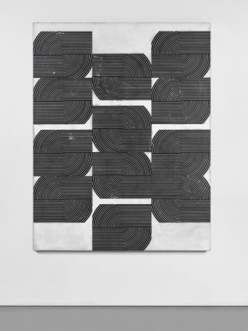 Davide Balliano (b. 1983) Untitled, 2018 Plaster, gesso & varnish on wood 72 x 56 inches 182.9 x 142.2 cm