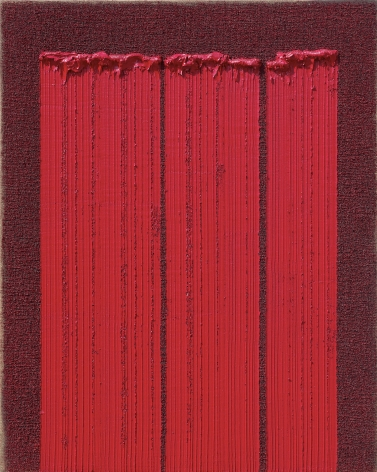 Ha Chong-Hyun, Conjunction 17-20 (2017). Oil on hemp cloth, 162 x 130 cm (63.86 x 51.3 inches), Tina Kim Gallery