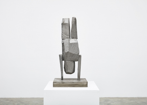 Gimhongsok (b. 1964), Resist - Lee, 2018, High-strength grout cement, Sculpture, 34.65 x 15.75 x 11.81 inches, 88 x 40 x 30 cm Edition 1/3, 2AP, Gimhongsok: Dwarf, Dust, Doubt at Tina Kim Gallery