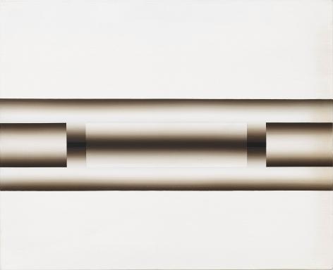 Lee Seung Jio (1941-1990) Nucleus 89-41, 1989 Oil on canvas 20.87 x 24.8 inches 53 x 63 cm
