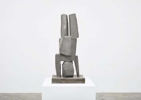 Gimhongsok (b. 1964), Resist - Parker, 2018, High-strength grout cement, Sculpture, 36.02 x 15.75 x 11.81 inches, 91.5 x 40 x 30 cm, Edition 1/3, 2AP, Gimhongsok: Dwarf, Dust, Doubt at Tina Kim Gallery