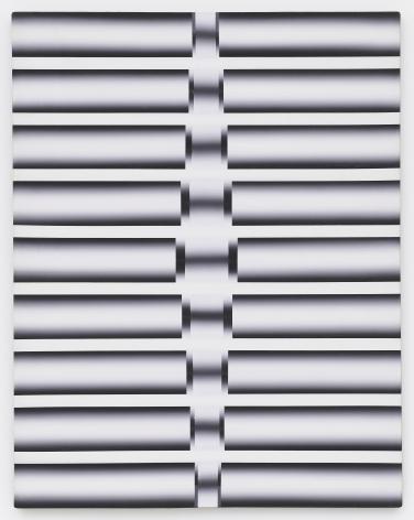 Lee Seung Jio (1941-1990) Nucleus 88-15, 1988 Oil on canvas 45.67 x 35.83 inches 116 x 91 cm