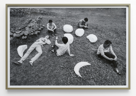 From Moon to Moon, 2014.Pigment print.30.71 x 45.67 inches (78 x 116 cm)