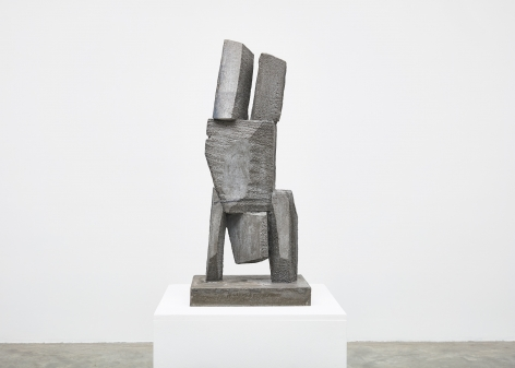 Gimhongsok (b. 1964), Resist - Johnson, 2018, High-strength grout cement, Sculpture, 38.19 x 15.75 x 11.81 inches, 97 x 40 x 30 cm Edition 1/3, 2AP, Gimhongsok: Dwarf, Dust, Doubt at Tina Kim Gallery