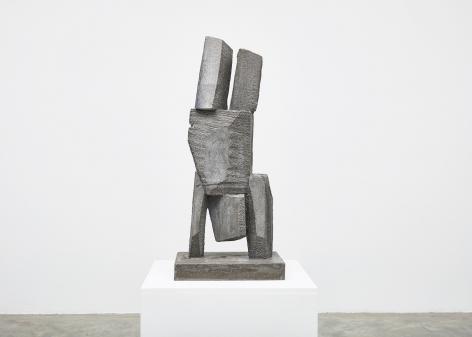 Gimhongsok (b. 1964), Resist - Johnson, 2018, High-strength grout cement, Sculpture, 38.19 x 15.75 x 11.81 inches, 97 x 40 x 30 cm Edition 1/3, 2AP, Gimhongsok: Dwarf, Dust, Doubt at Tina Kim Gallery