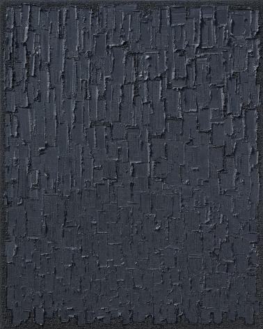 Ha Chong-Hyun, Conjunction 16-321 (2016). Oil on hemp cloth, 162 x 130 cm (63.86 x 51.3 inches), Tina Kim Gallery