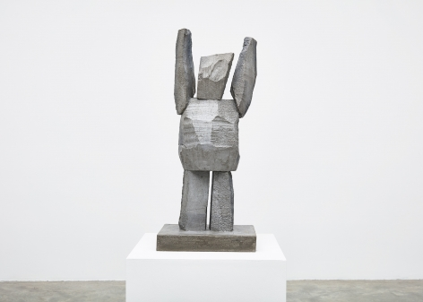 Gimhongsok (b. 1964), Surrender - Kim, 2018, High-strength grout cement, Sculpture, 38.19 x 15.75 x 11.81 inches, 97 x 40 x 30 cm, Edition 1/3, 2AP, Gimhongsok: Dwarf, Dust, Doubt at Tina Kim Gallery