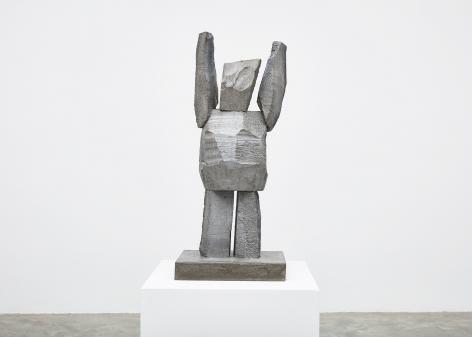 Gimhongsok (b. 1964), Surrender - Kim, 2018, High-strength grout cement, Sculpture, 38.19 x 15.75 x 11.81 inches, 97 x 40 x 30 cm, Edition 1/3, 2AP, Gimhongsok: Dwarf, Dust, Doubt at Tina Kim Gallery
