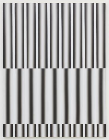 Lee Seung Jio (1941-1990) Nucleus 85-1, 1985 Oil on canvas 57.28 x 44.09 inches 145.5 x 112 cm