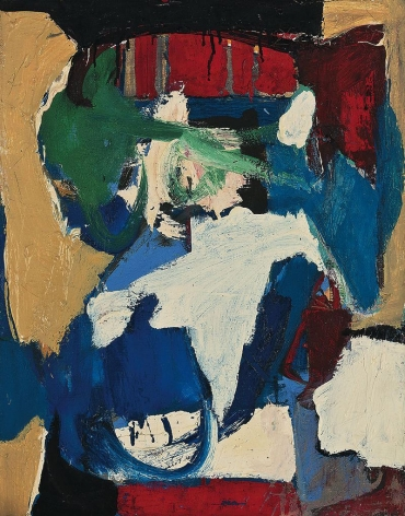 Untitled, c. 1960s. Oil on canvas.23.03 x 18.11 inches(58.5 x 46 cm)
