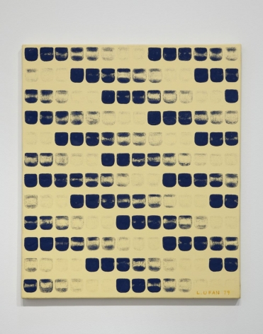 Lee Ufan, From point (No. 790226), 1979