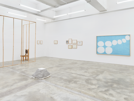 Installation View of Two Hours byBahc Yiso, Chung Seoyoung, Kim Beom. Image by Jeremy Haik.