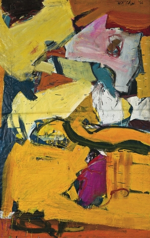 Untitled, 1966. Oil on canvas. 72.83 x 47.64 inches (185 x 121 cm)