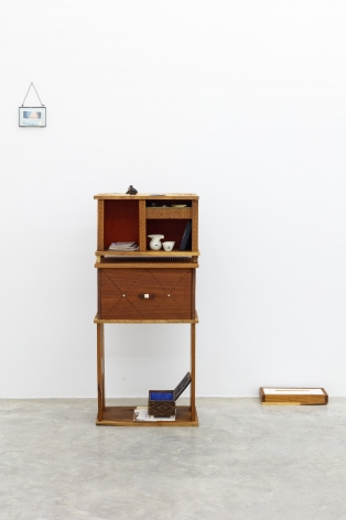 Group Show with Commonwealth and Council: Patricia Fernández, Box (a proposition for ten years) (2012-2022). Mixed media, dimensions variable