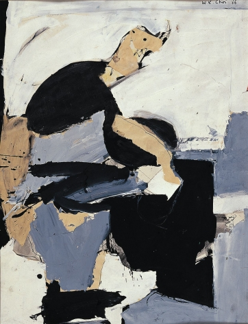 Untitled, 1966. Acrylic on paper.23 1/4 x 17 1/2 inches(59 x 44.5 cm)