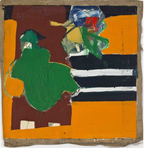 Untitled, c. 1960s. Oil on canvas.23.03 x 22.83 inches(58.5 x 58 cm)