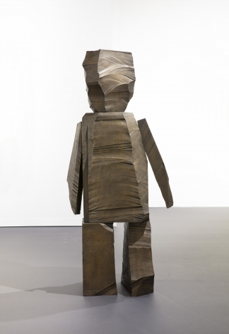 Gimhongsok, An Observer (Incomplete Order Development), 2019. Bronze. 34.65 x 22.05 x 77.56 inches (88 x 56 x 197 cm).